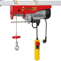 Hoisting winch, L'europe Tiratutto 200