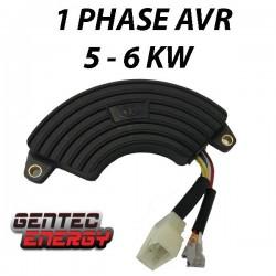 1-phase, AVR, 5 - bis 6-kVA-Generatoren