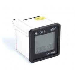Digital-Voltmeter, Urenteler, Hz-meter, die in einer