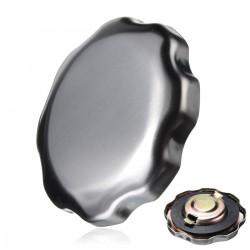 Honda tank-plug lock-chrome Silber