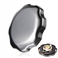Honda tank plug lock chrome silver